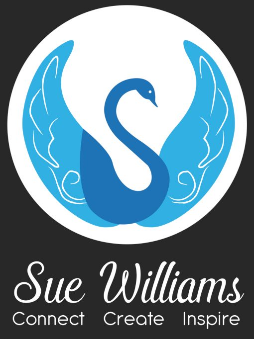 Sue Logo Writing Dark BG