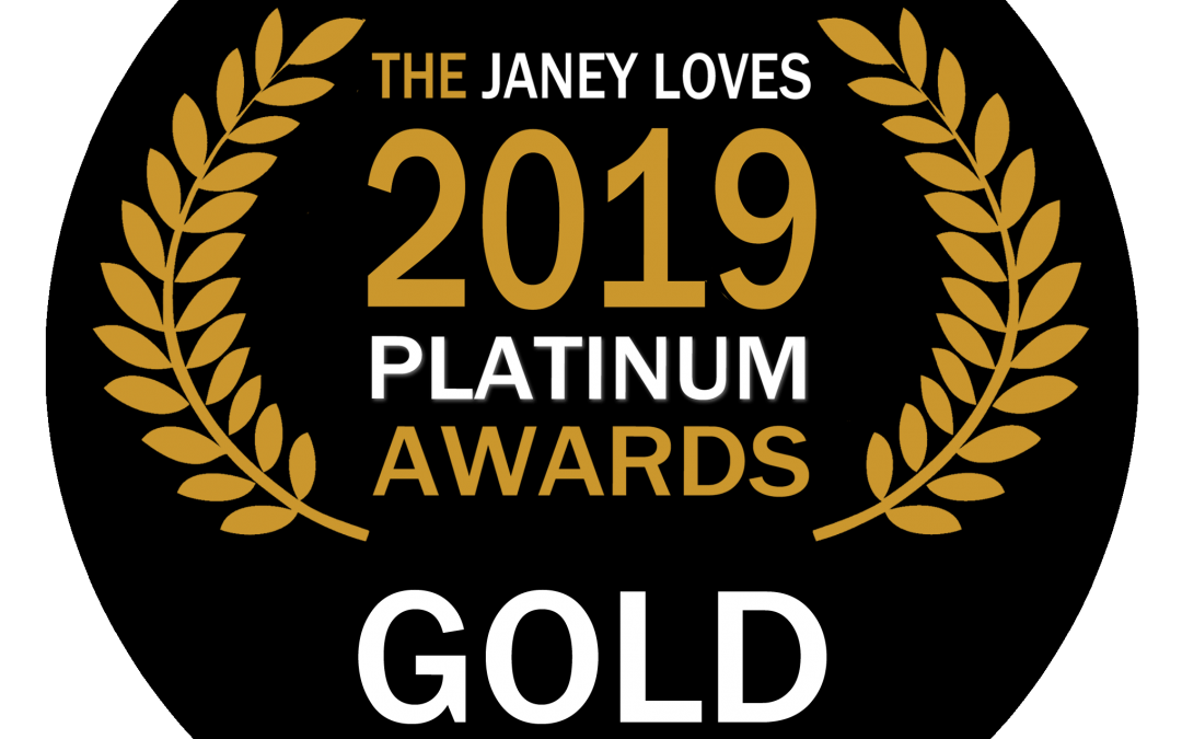 Janey Loves 2019 Platinum Awards Winner