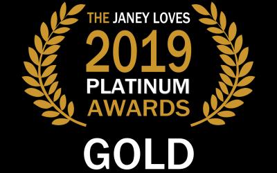 Janey Loves 2019 Platinum Awards Winner