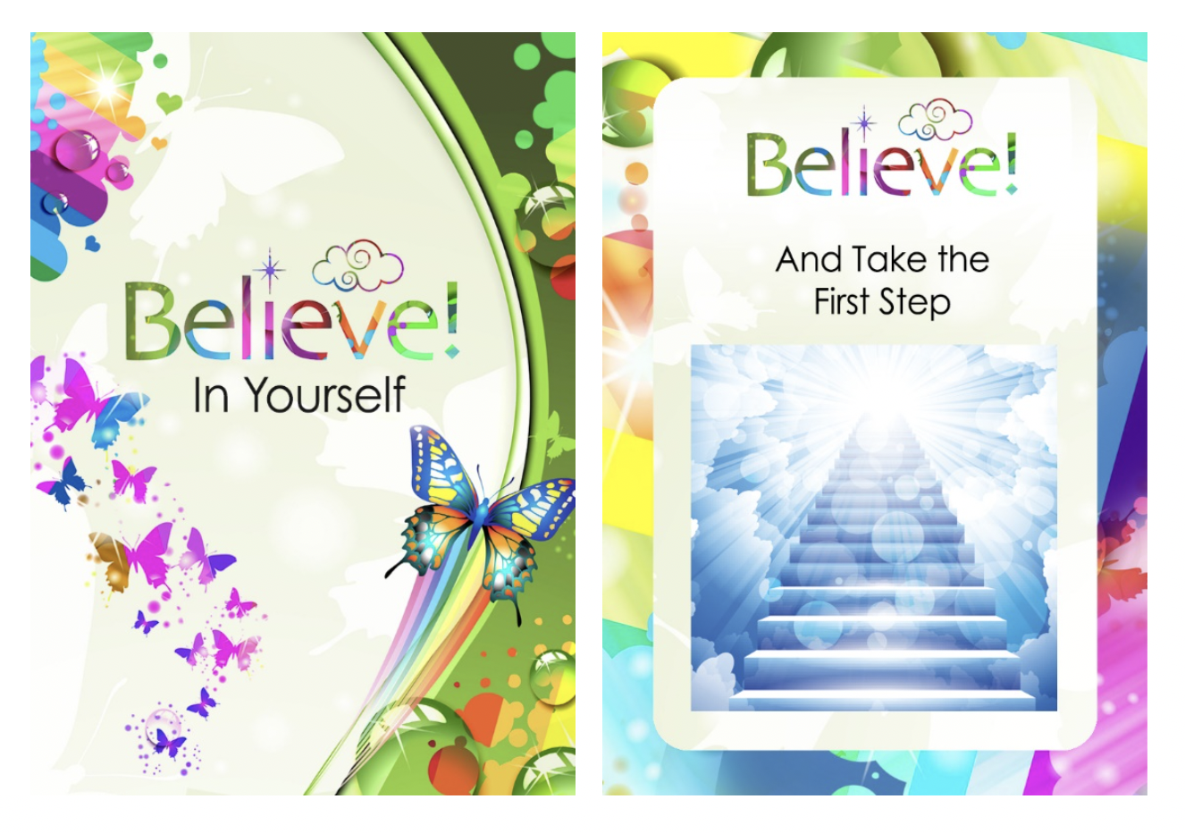 believe cards take the first step